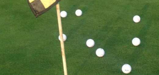 5 coolest golf swing tips - golf balls on green