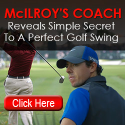 Rory McIlroy golf lesson