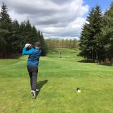Golf Tips for the Senior Golfer - golfer teeing off