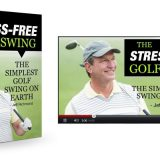 Ben Hogan Golf Swing - Book cover Stress Free Golf Swing