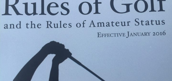 How to Speed up Play - Front Page of the Rules of Golf